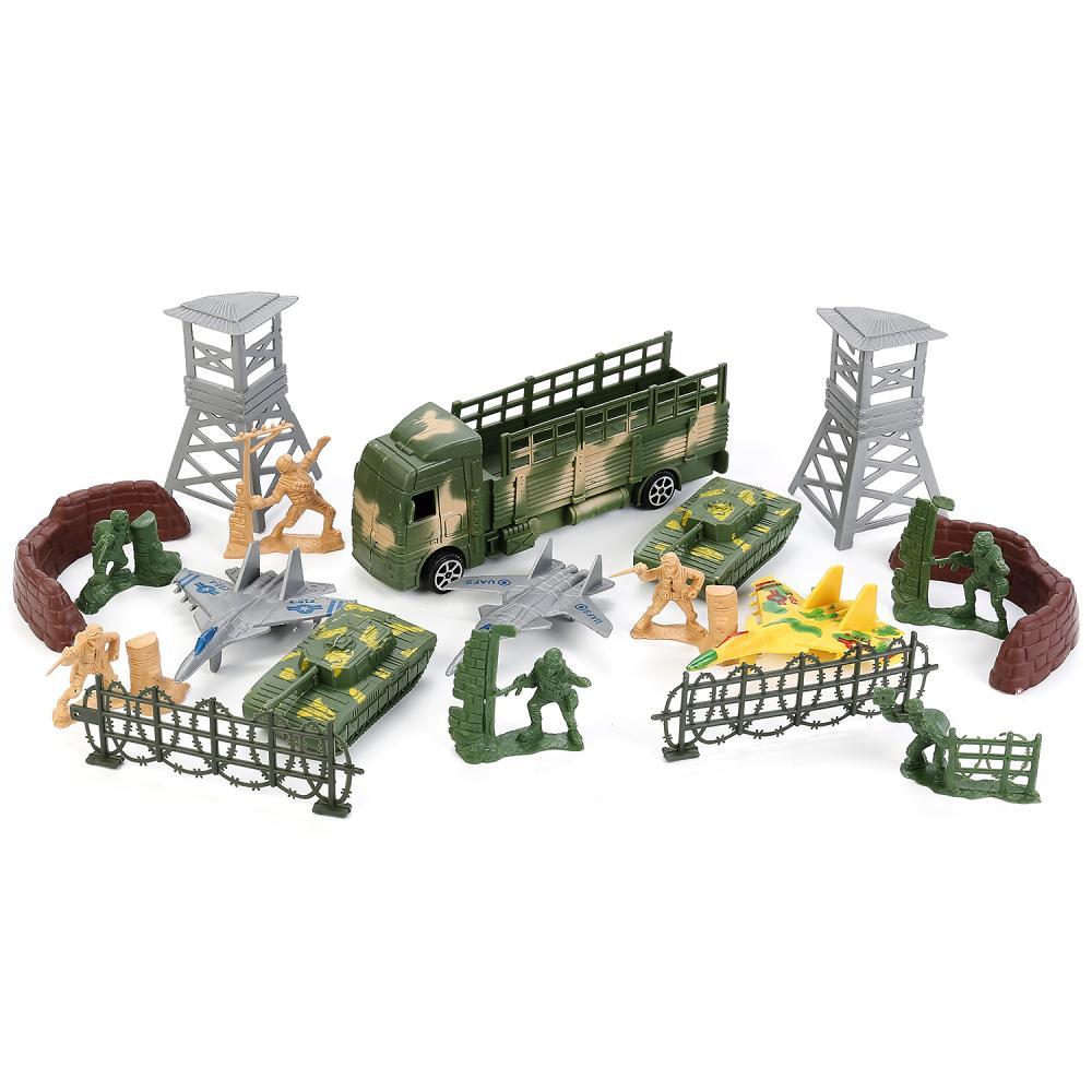 Купить Набор солдатиков с военной техникой и аксессуарами, Играем вместе