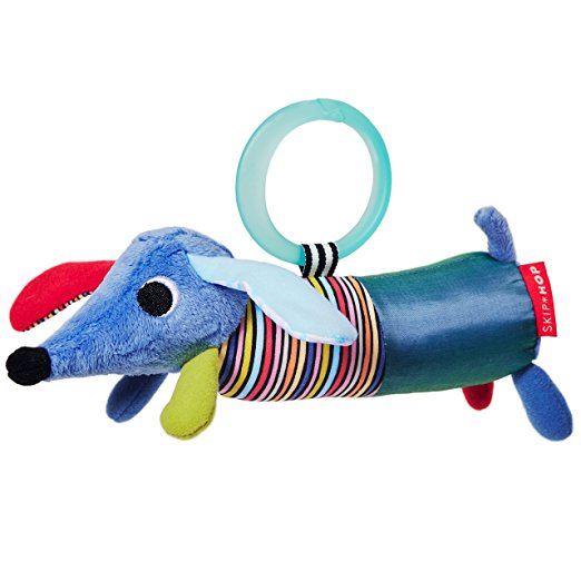 Купить Развивающая игрушка-подвеска Щенок, Skip Hop