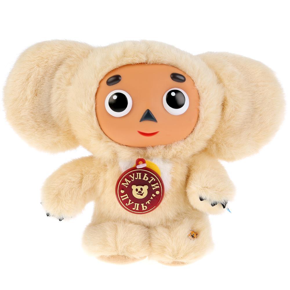 Купить Озвученная мягкая игрушка - Чебурашка, бежевый, 17 см, Мульти-Пульти