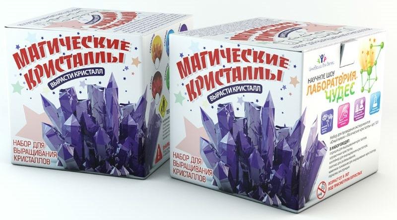Малый набор для экспериментов - Магические кристаллы.Кристаллы<br>Малый набор для экспериментов - Магические кристаллы.<br>