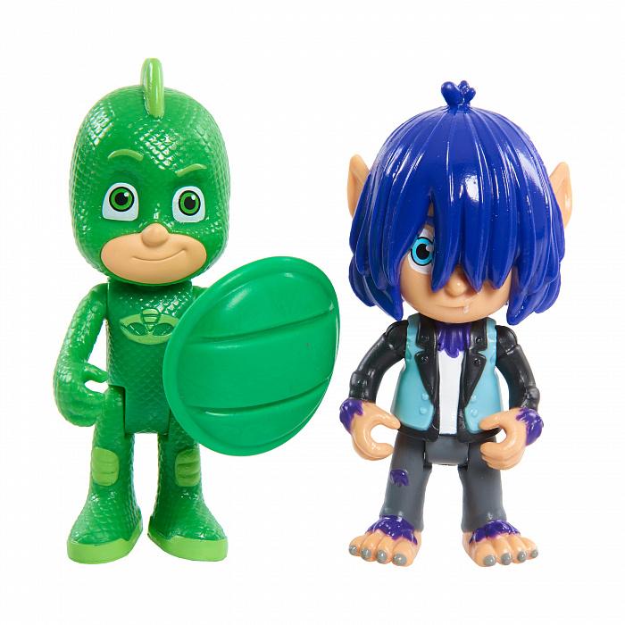 Купить Игровой набор Герои в масках – Гекко и Кевин, 8 см, Росмэн