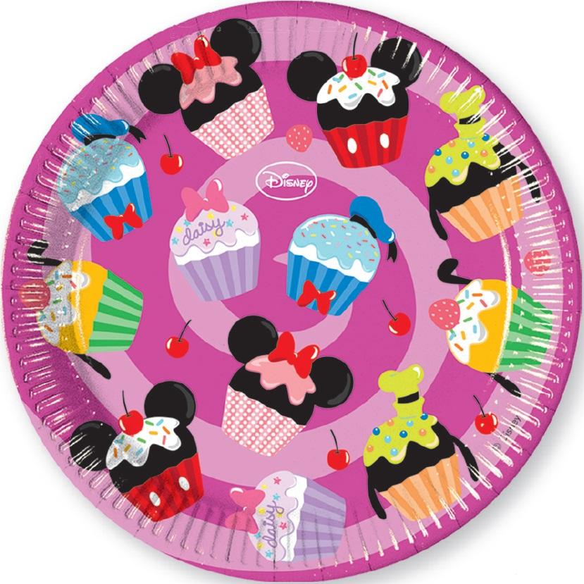 Тарелки Микки и его друзья - сладостиМикки Маус<br>Тарелки Микки и его друзья - сладости<br>