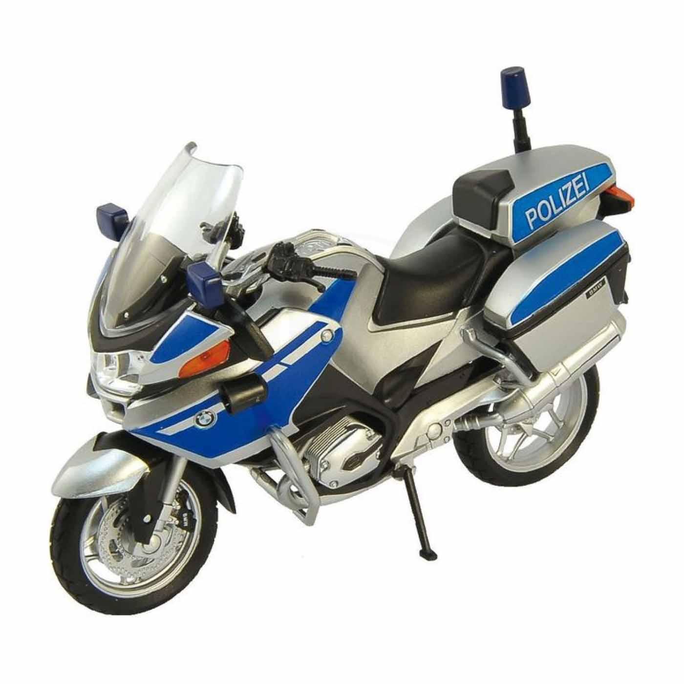Игрушечная модель мотоцикла - BMW R1200RT, полиция, 1:18Мотоциклы<br>Игрушечная модель мотоцикла - BMW R1200RT, полиция, 1:18<br>