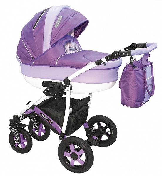 Детская коляска Camarelo Carmela 2 в 1, цвет CR_06Детские коляски 2 в 1<br>Детская коляска Camarelo Carmela 2 в 1, цвет CR_06<br>