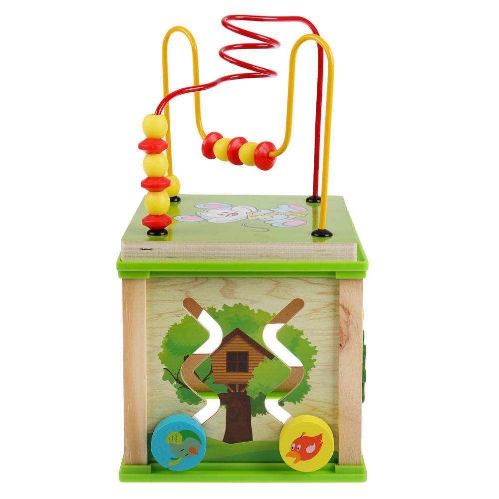 Купить Сортер деревянный Волшебный куб, 16, 5 х 17 см., Буратино