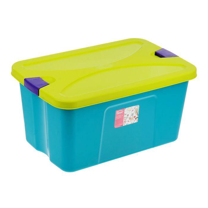 Idea Ящик для игрушек – Секрет, бирюзовый
