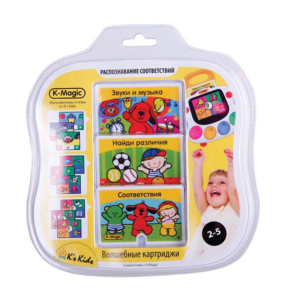 Набор картриджей Чувства K-MagicРазвивающие игрушки K-Magic от KS Kids<br>Набор картриджей Чувства K-Magic<br>