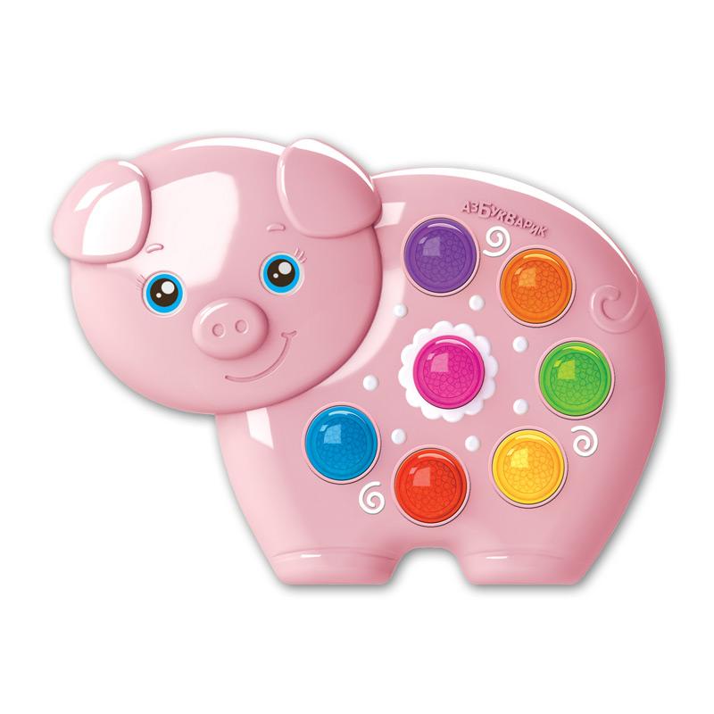Купить Игрушка музыкальная из серии Веселушки - Свинка, Азбукварик