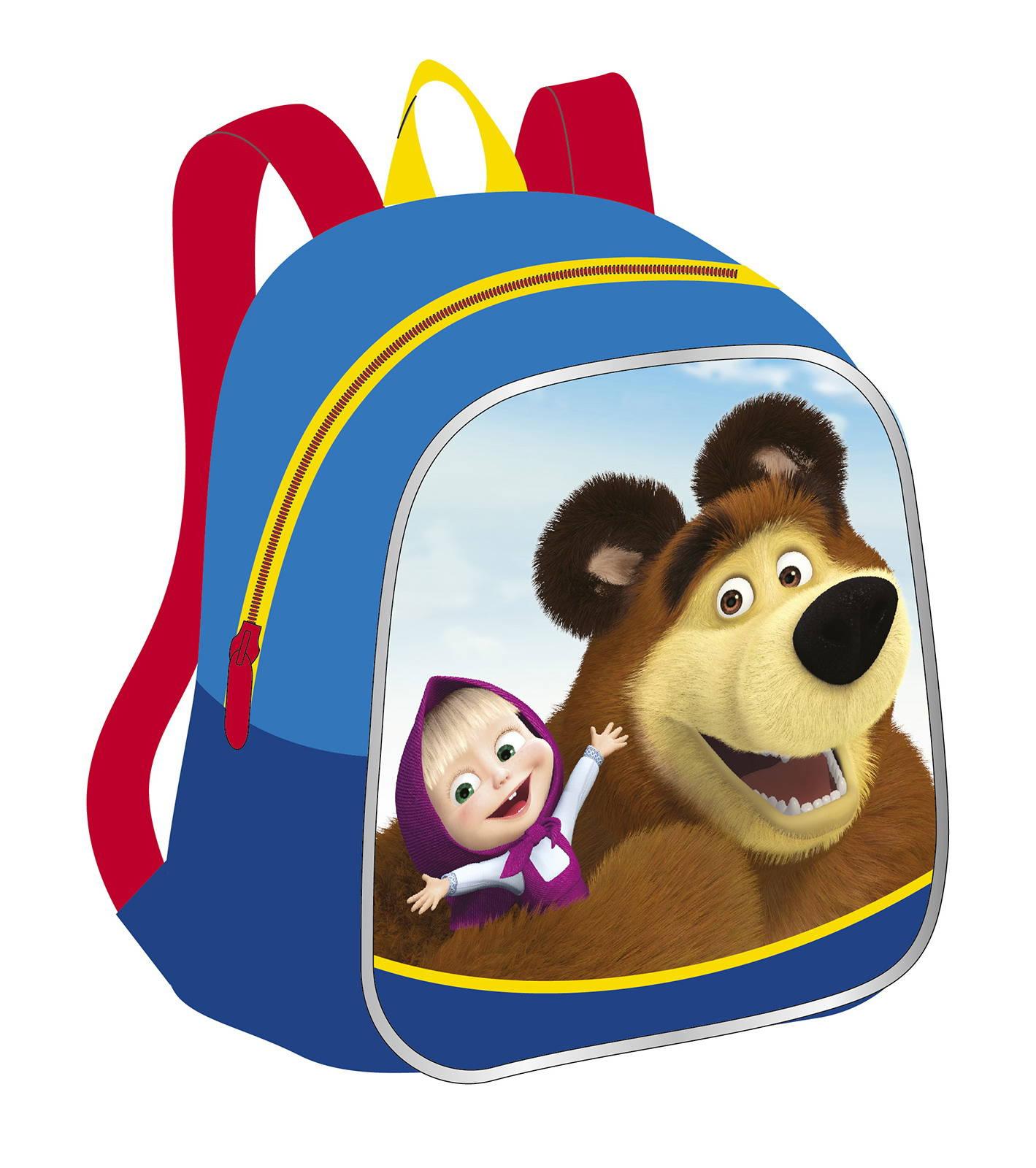Рюкзачок малый Маша и Медведь  Мишка - Детские рюкзаки, артикул: 165764