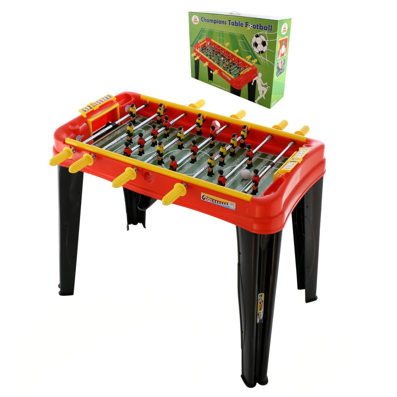 Набор Мини-футбол – Champions №1, красныйНастольный футбол<br>Набор Мини-футбол – Champions №1, красный<br>
