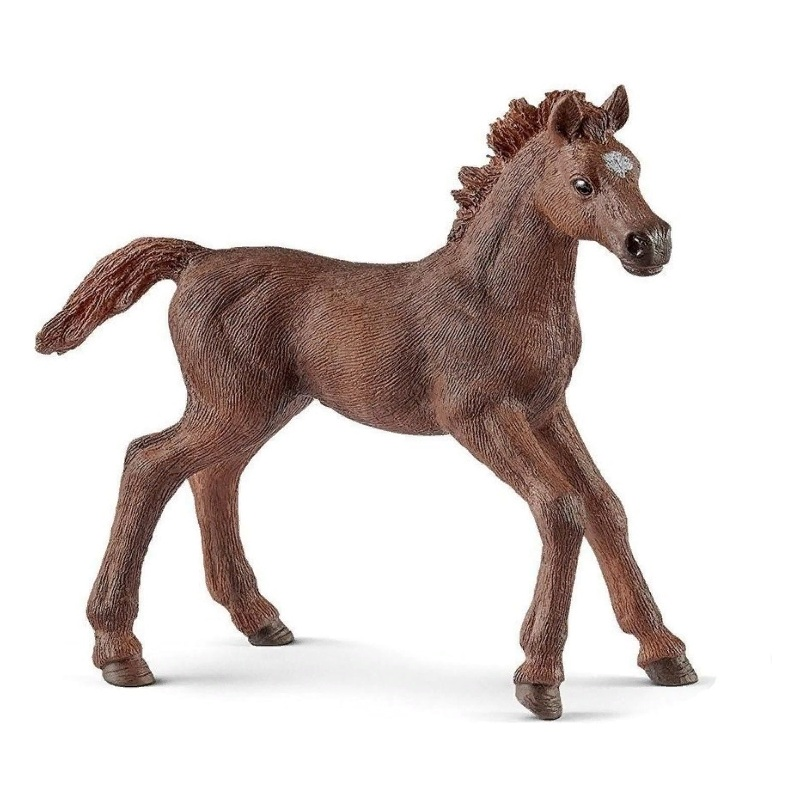 Фигурка - Английский чистокровный верховой жеребенокЛошади (Horse)<br>Фигурка - Английский чистокровный верховой жеребенок<br>