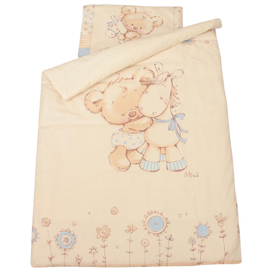 Комплект постельного белья – Mika, голубойДетское постельное белье<br>Комплект постельного белья – Mika, голубой<br>