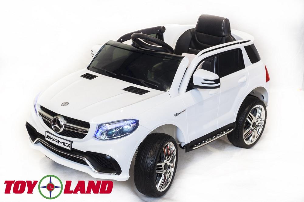 Купить Электромобиль - Mercedes-Benz GLE63S AMG, белый, свет и звук, ToyLand