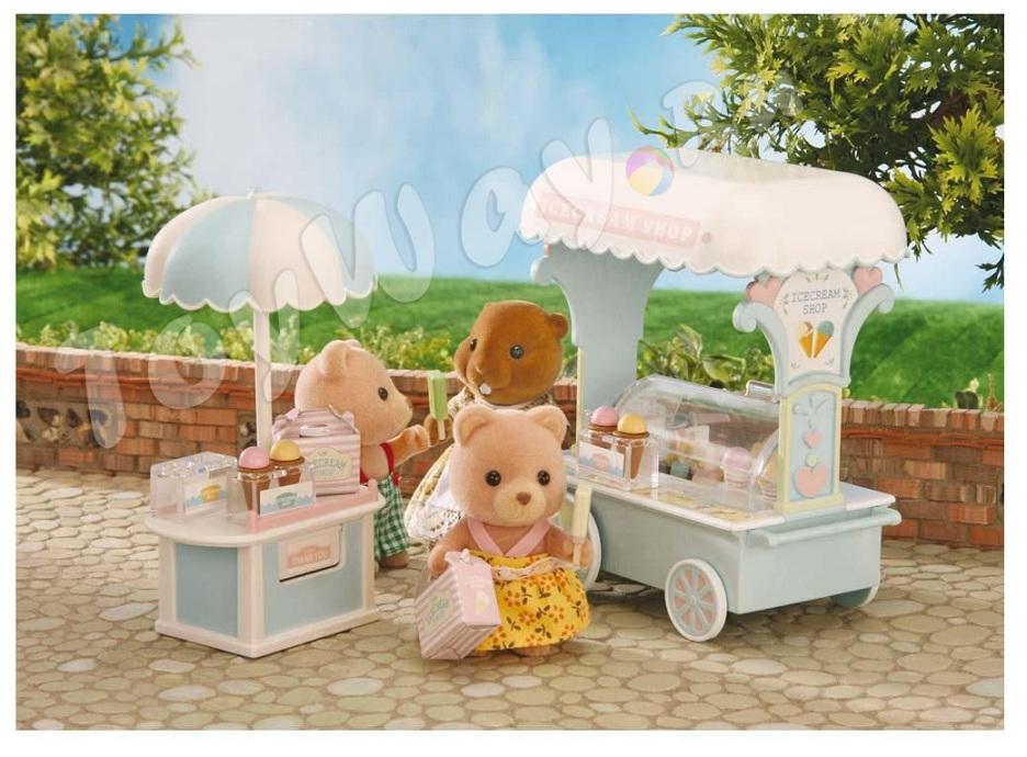 Набор Тележка с мороженымПокупки и Продукты<br>Набор Тележка с мороженым<br>