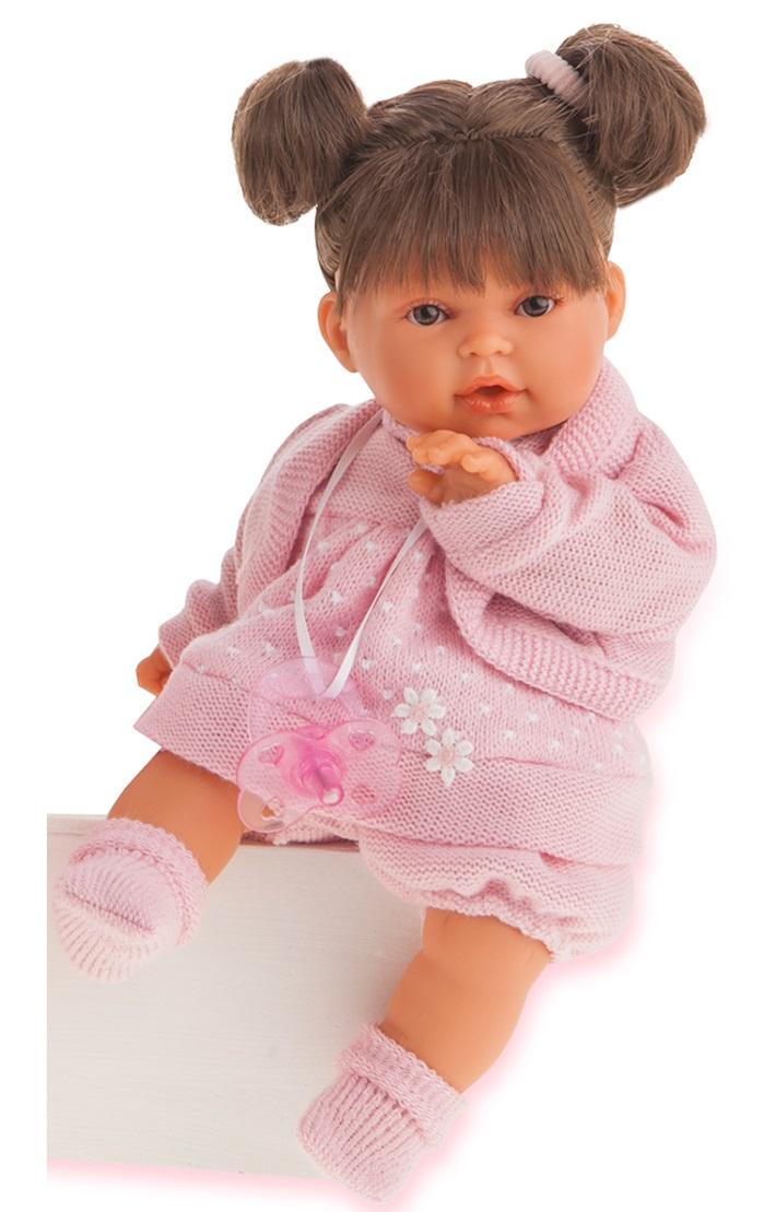 Купить Кукла Лана брюнетка, 27 см, звук, Antonio Juans Munecas