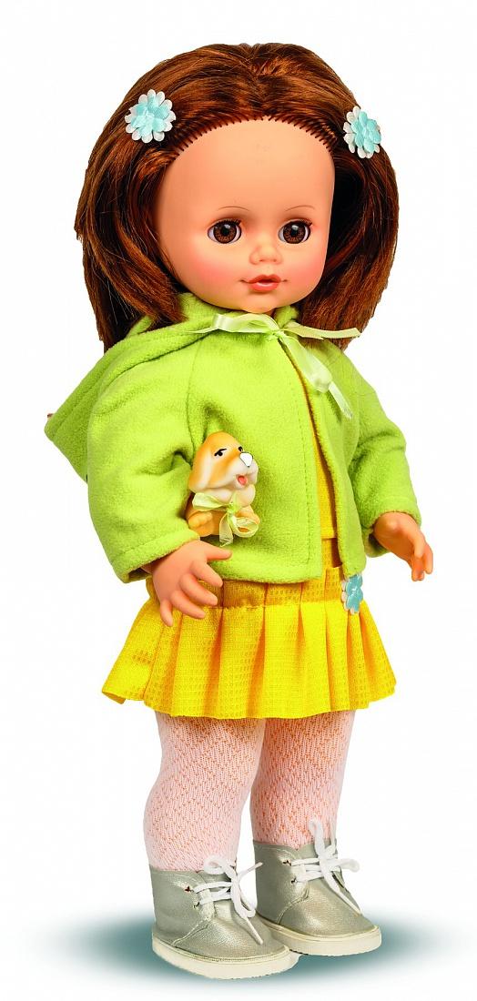 Кукла Анна с собачкой и звуковым устройством, 43 смРусские куклы фабрики Весна<br>Кукла Анна с собачкой и звуковым устройством, 43 см<br>