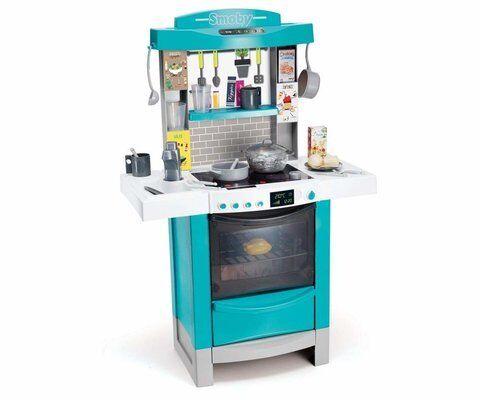 Купить Детская электронная кухня Tefal Cooktronic, кипение, свет и звук, Smoby