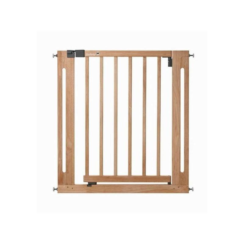 Защитный барьер-калитка из дерева для дверного/лестничного проема S 24040100Безопасность ребенка<br>Защитный барьер-калитка из дерева для дверного/лестничного проема S 24040100<br>