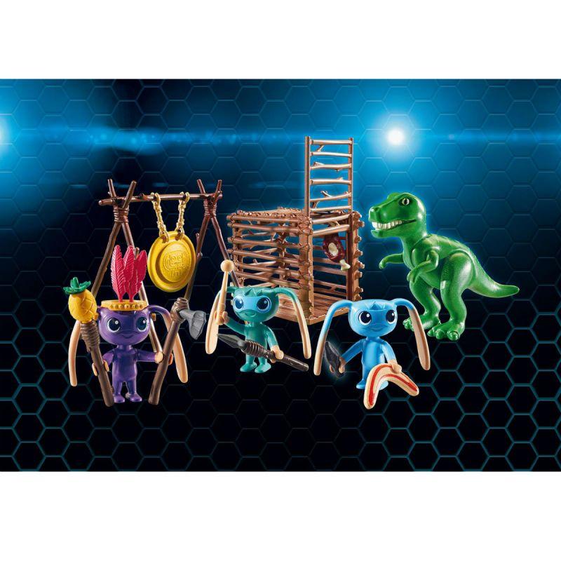 Игровой набор – Супер 4: Инопланетный воин с Т-рекс ловушкойSuper 4<br>Игровой набор – Супер 4: Инопланетный воин с Т-рекс ловушкой<br>