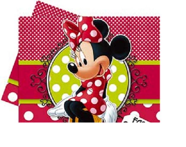 Скатерть из полиэтилена серия Минни Модница, размер 1,2 х 1,8 м.Микки Маус<br>Скатерть из полиэтилена серия Минни Модница, размер 1,2 х 1,8 м.<br>