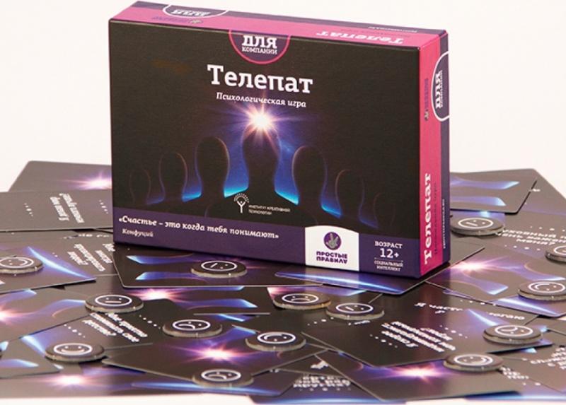 Игра настольная – Телепат, 12+Игры для компаний<br>Игра настольная – Телепат, 12+<br>