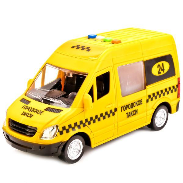 Машина пластиковая инерционная Такси, свет и звук, открываются двери, 22 см.Городская техника<br>Машина пластиковая инерционная Такси, свет и звук, открываются двери, 22 см.<br>