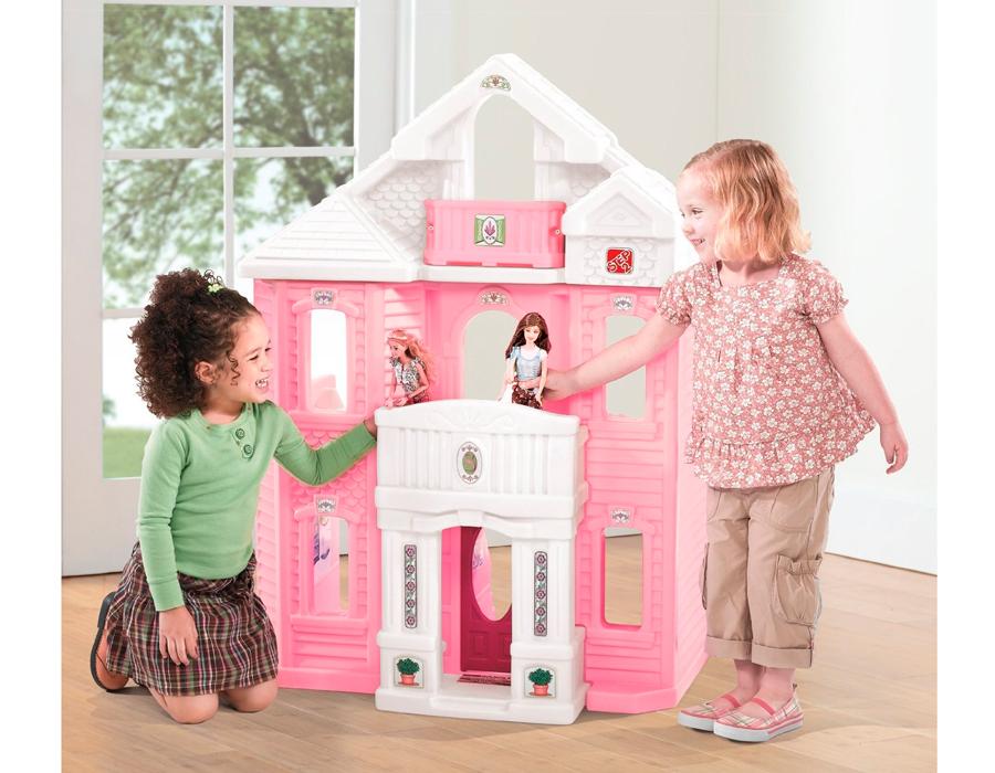 игровые детские кукольные домики из пластика нему состав