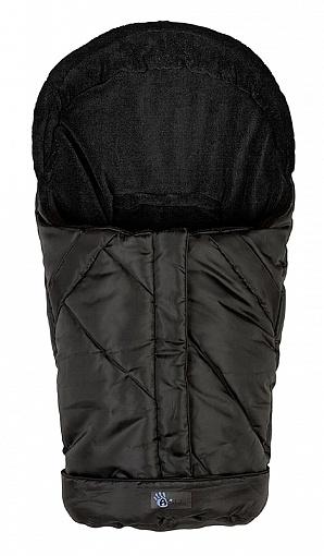 Зимний конверт Nordic Pram &amp; Car seat, black/blackДетские Конверты<br>Зимний конверт Nordic Pram &amp; Car seat, black/black<br>