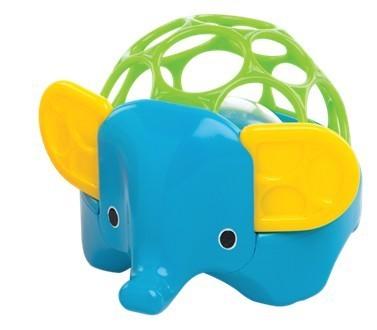 Погремушка Зоопарк СлонДетские погремушки и подвесные игрушки на кроватку<br>Погремушка Зоопарк Слон<br>