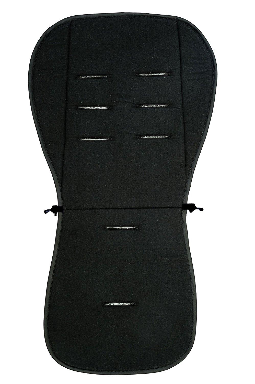 Матрасик вкладыш из ткани Lifeline Polyester с покрытием 3D Mesh, размер 83 x 42 см., цвет черныйАксессуары к коляскам<br>Матрасик вкладыш из ткани Lifeline Polyester с покрытием 3D Mesh, размер 83 x 42 см., цвет черный<br>