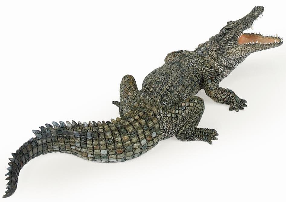 Фигурка Papo - Нильский крокодилДикая природа (Wildlife)<br>Фигурка Papo - Нильский крокодил<br>