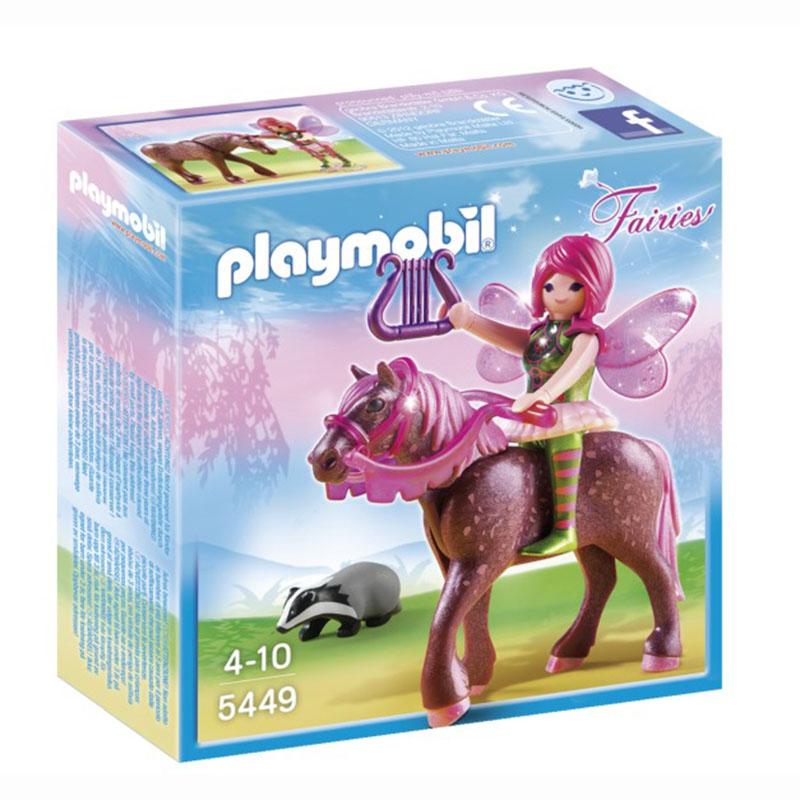 Игровой набор Лесная фея Суря с лошадью - Конструкторы Playmobil, артикул: 159037