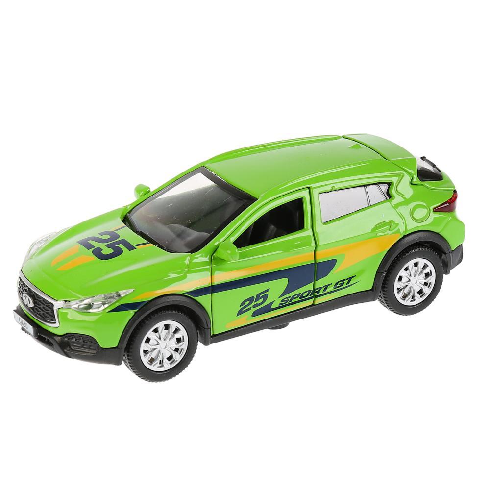 Купить Машина металлическая Infiniti QX30 Спорт, 12 см, открываются двери, инерционная, Технопарк
