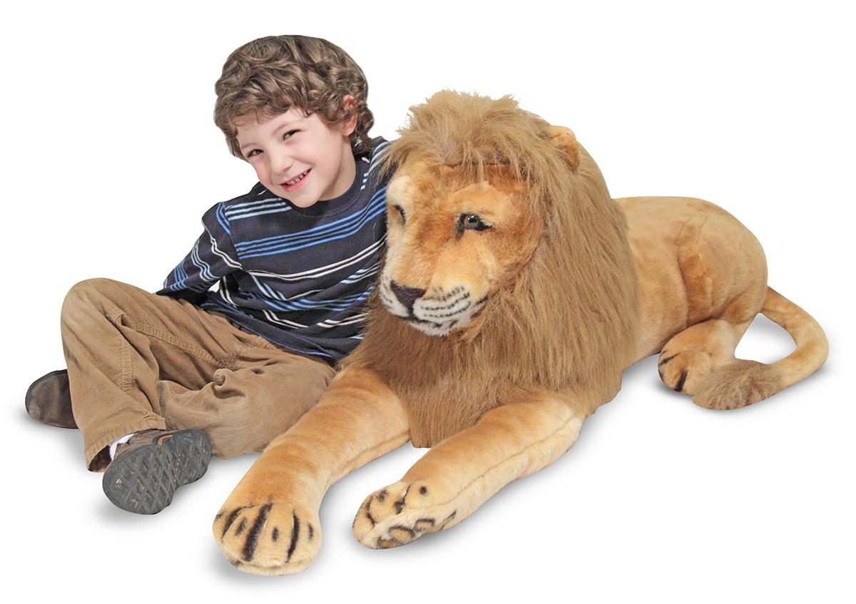Мягкая игрушка  Лев , 190 х 48 см. - Большие игрушки (от 50 см), артикул: 138662
