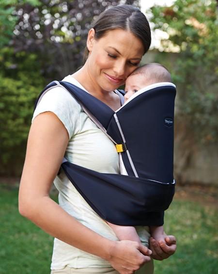 Чёрный рюкзак-переноска для детей - Надёжные объятияСумки-кенгуру <br>Чёрный рюкзак-переноска для детей - Надёжные объятия<br>