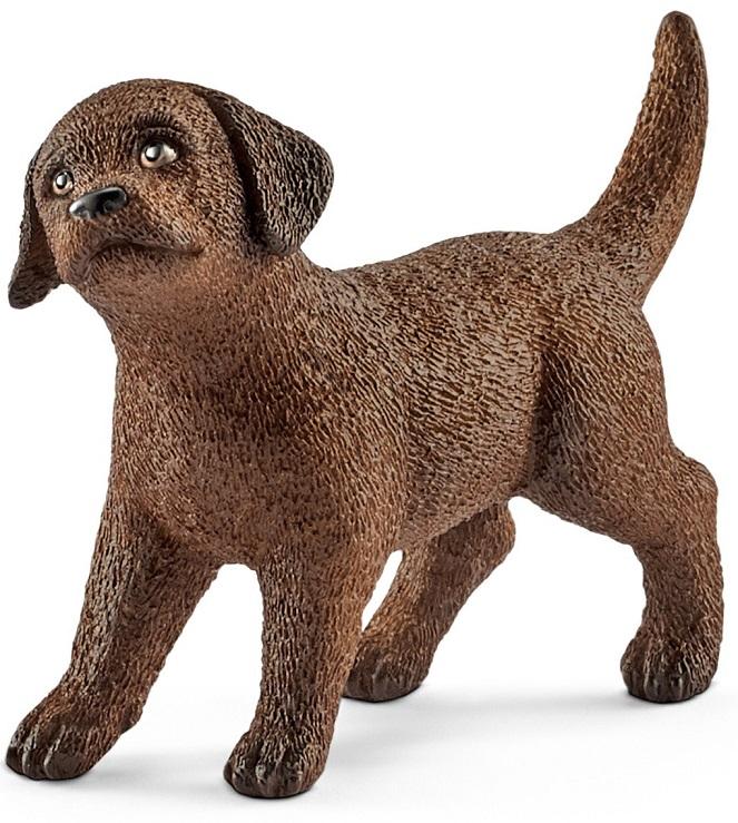 Купить Фигурка - щенок Лабрадора, размер 5 х 2 х 4 см., Schleich