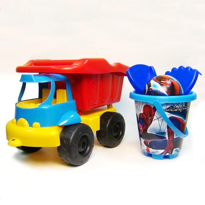"""Unice Песочный набор """"Спайдермен 4"""" с грузовиком"""