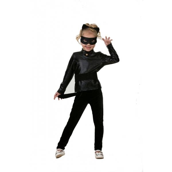 Купить Карнавальный костюм для мальчиков и девочек – Супер Кот, свитер и брюки, размер 116-60, Батик