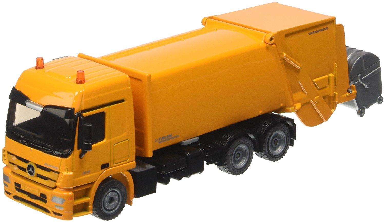 Купить Модель мусоровоза Mercedes-Actros, 1:50, Siku