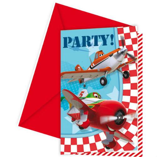 Приглашения в конвертах СамолетыСамолеты<br>Приглашения в конвертах Самолеты<br>