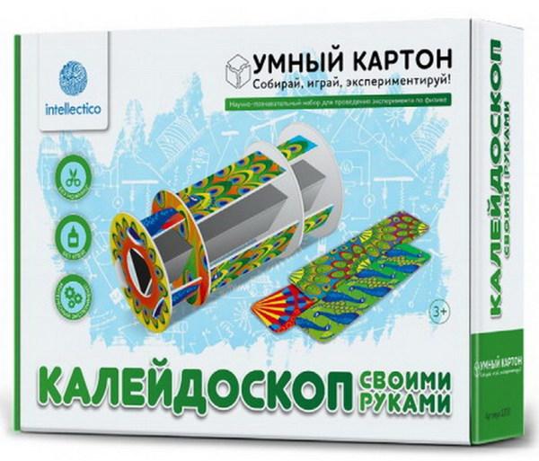 Купить Научно-познавательный набор для экспериментов - Калейдоскоп своими руками, Intellectico