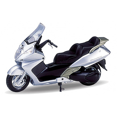 Металлический мотоцикл Honda Silver Wing, масштаб 1:18Мотоциклы<br>Металлический мотоцикл Honda Silver Wing, масштаб 1:18<br>