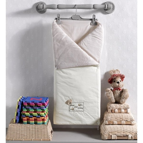 Купить Трансформер одеяло-конверт Honey Bear из 100% хлопка, Kidboo