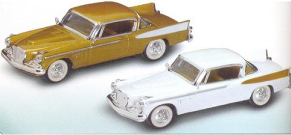 Коллекционный автомобиль 1958 года - Студебекер Golden Hawk, 1/43Винтажные модели<br>Коллекционный автомобиль 1958 года - Студебекер Golden Hawk, 1/43<br>