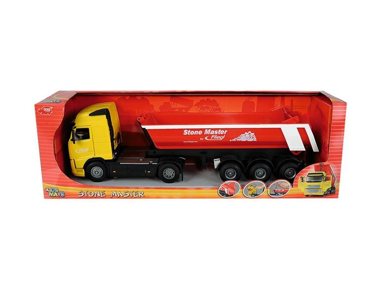 Dickie Toys Грузовик с прицепом, 50 см.,фрикционный