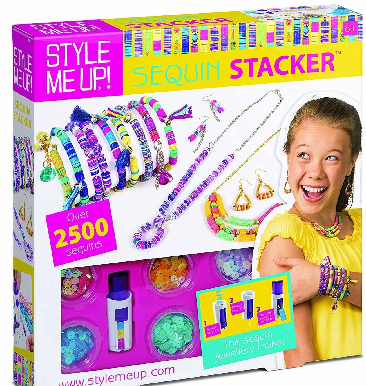 Набор Style Me Up для создания украшений с блестками - Юная модница, салон красоты, артикул: 175424