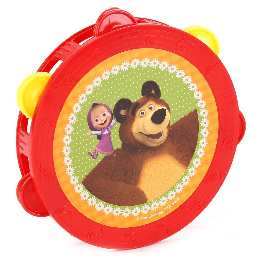 Купить Бубен - Маша и Медведь, Играем вместе