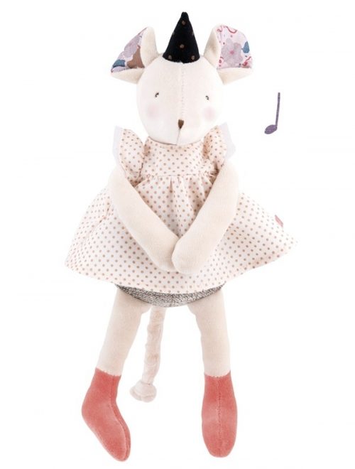 Мягкая игрушка – Музыкальная мышка, 30 см, звук фото