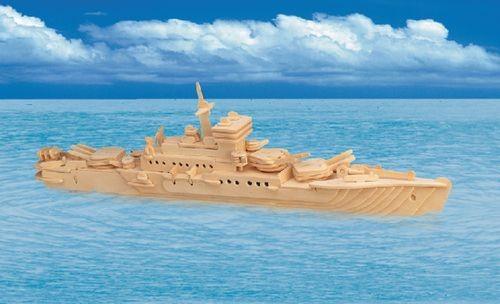 Сборная деревянная модель – КрейсерПазлы объёмные 3D<br>Сборная деревянная модель – Крейсер<br>