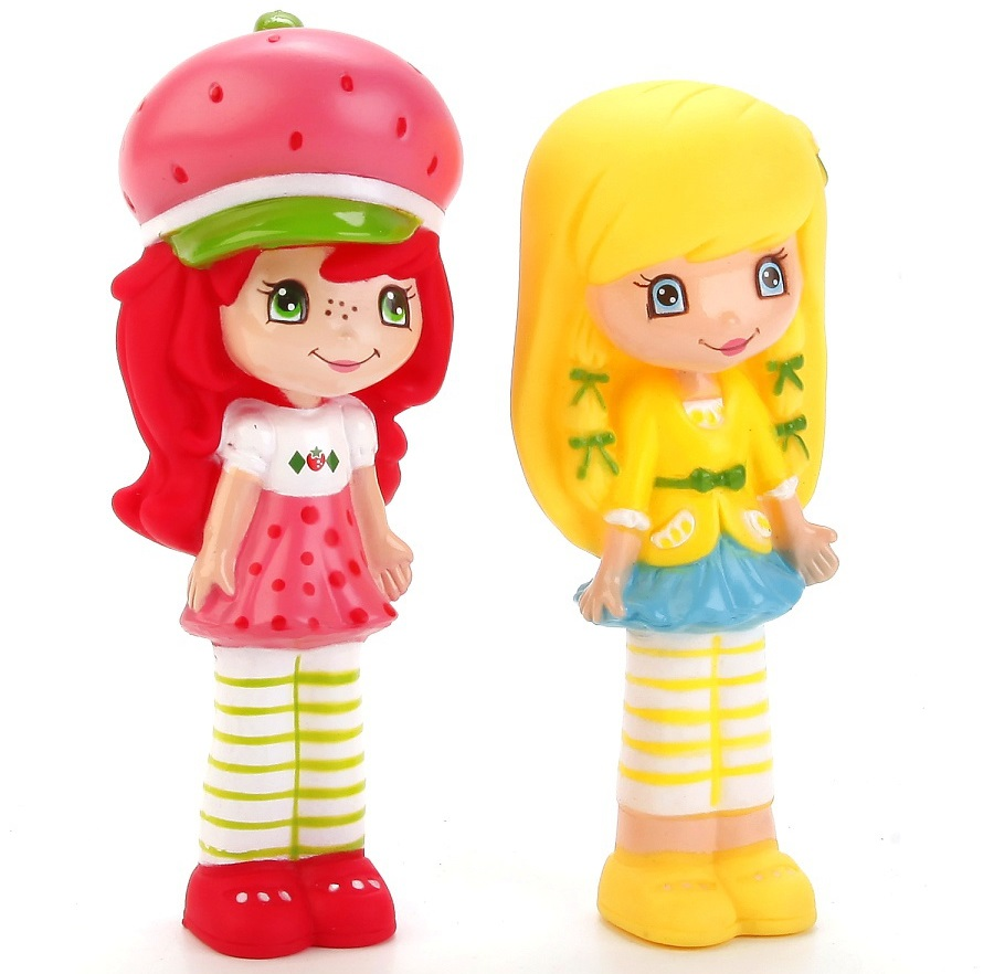 Набор из 2-х игрушек для купания из серии Шарлотта Земляничка, в сеткеИгрушки для ванной<br>Набор из 2-х игрушек для купания из серии Шарлотта Земляничка, в сетке<br>